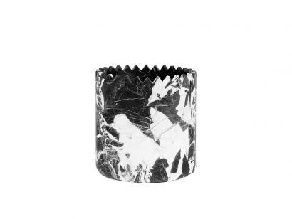 Triangoli - Grand Antique Marble Vase M - D15 x H15 cm