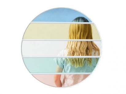 Vitrail Specchio Rotondo Magis
