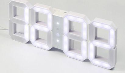 W&W Clock digital LED orologio