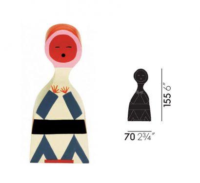Wooden Dolls N° 18