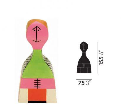 Wooden Dolls N° 19