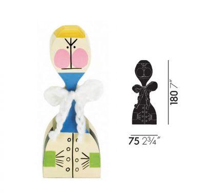 Wooden Dolls N° 21