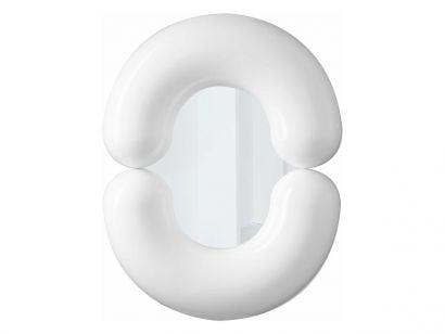 Zodiac Miroir - White 55x70 cm