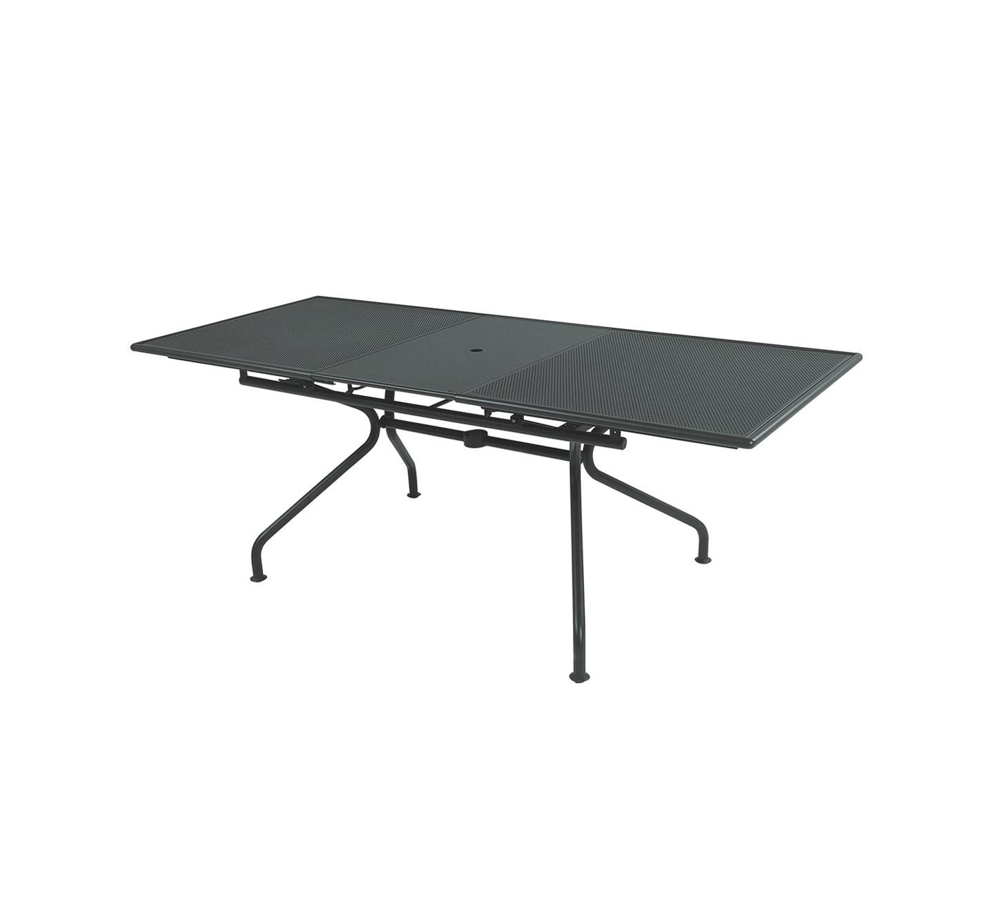 Emu Piano Tavolo Allungabile.Emu Piano Extending Table 160 Grey Mohd Shop