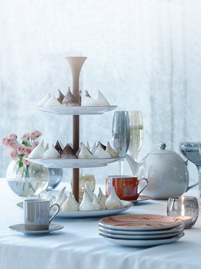 Cake Stand and Cookie Jars