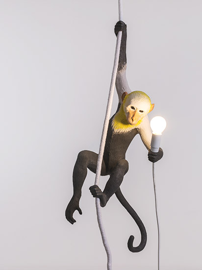 monkey lamp seletti x mohd