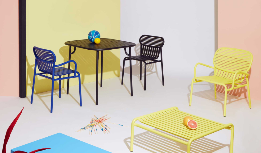 A colorful Outdoors: 6 colorful outdoor furniture