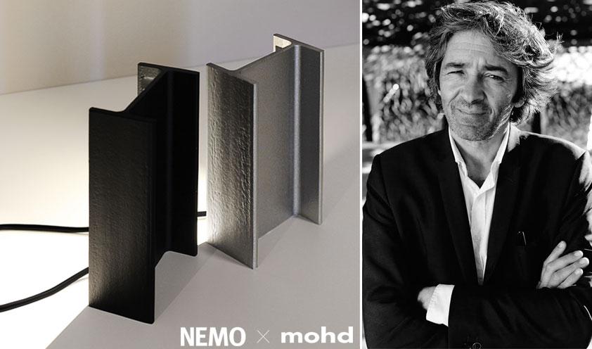 Nemo x Mohd: la lampada di Rudy Ricciotti in un'edizione esclusiva