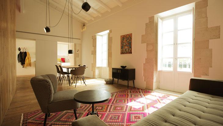 Il colorato appartamento di Marcin Oz nel cuore di Siracusa
