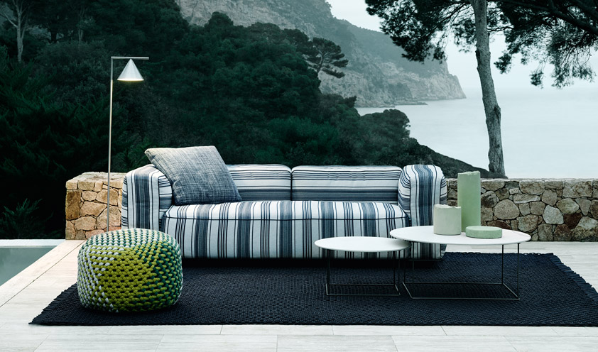 Citterio, Fukasawa and Starck: three masters of design for the new B&B Italia outdoor collections