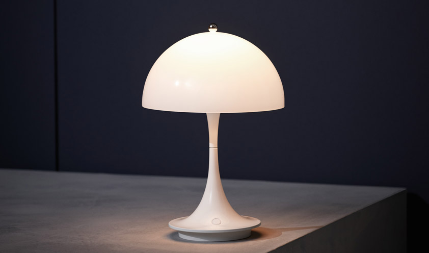 How an icon is born: the Panthella lamp by Verner Panton for Louis Poulsen