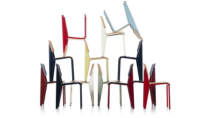 How an icon is born: Petite Potence, Standard, Fauteuil de Salon and Cité by Jean Prouvé for Vitra