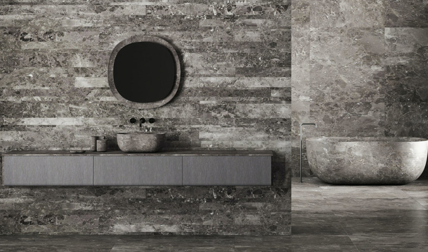 Marble in its most refined interpretation in the new Salvatori collections