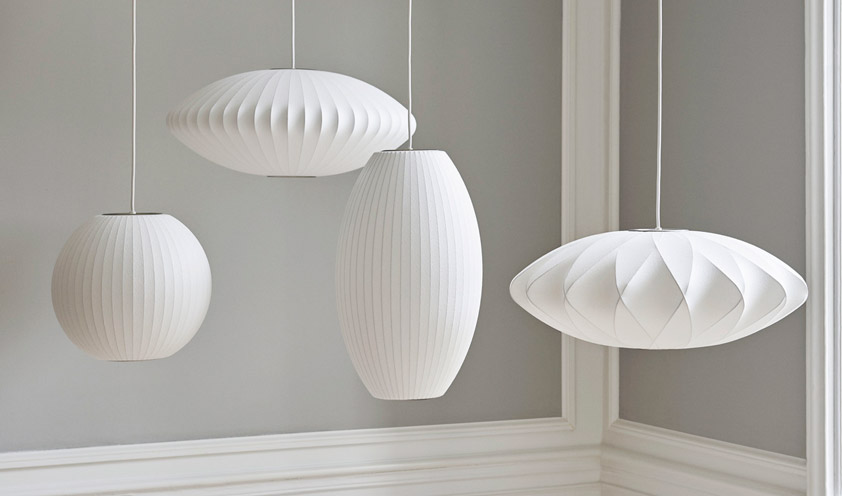 How an icon is born: the Bubble lamp by George Nelson for Hay
