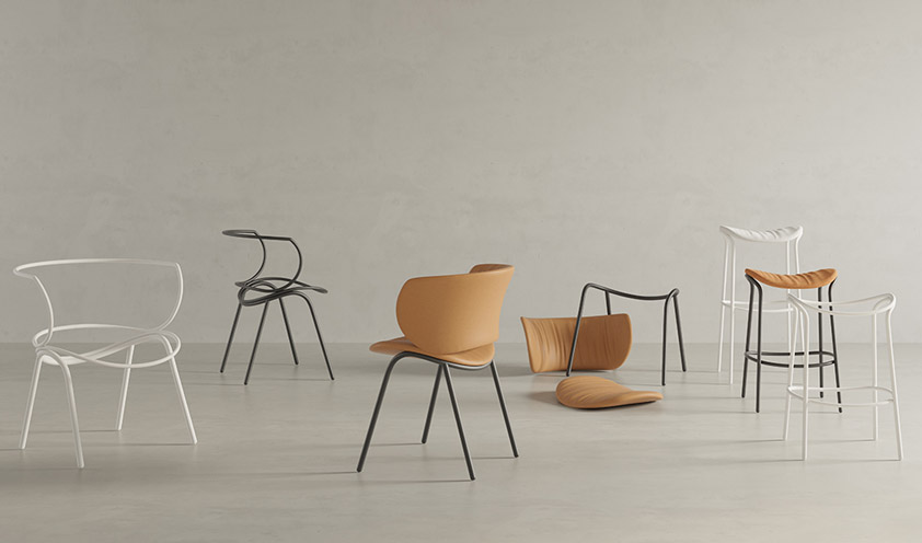 Viccarbe focuses on sustainability and comfort for the new 2020 collections