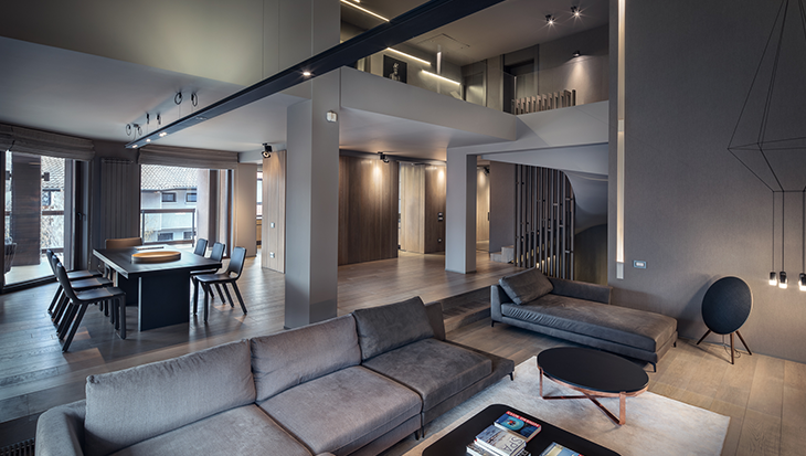 Sofia, una sofisticata abitazione dal fascino minimal e contemporaneo