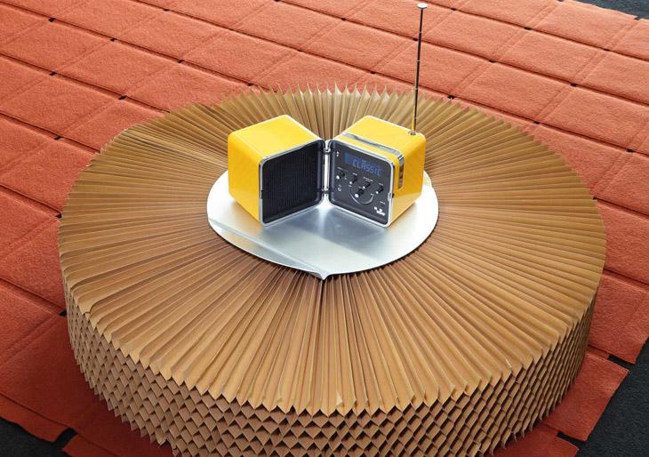 Radio Cubo TS522D+ Brionvega