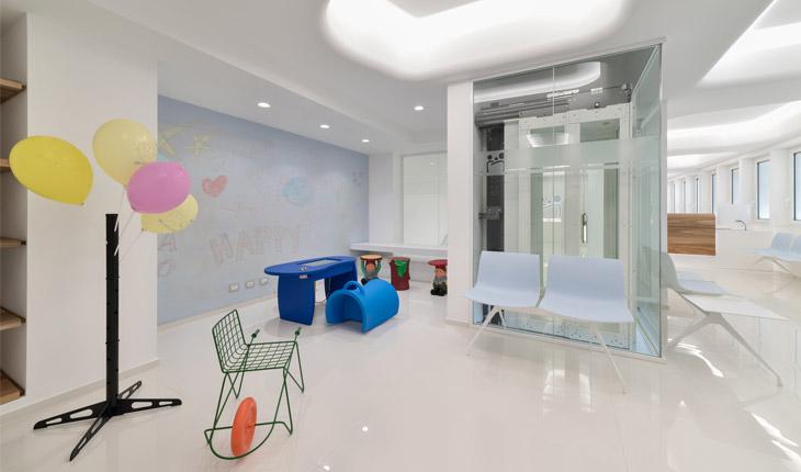 Cutrera dental clinic children area