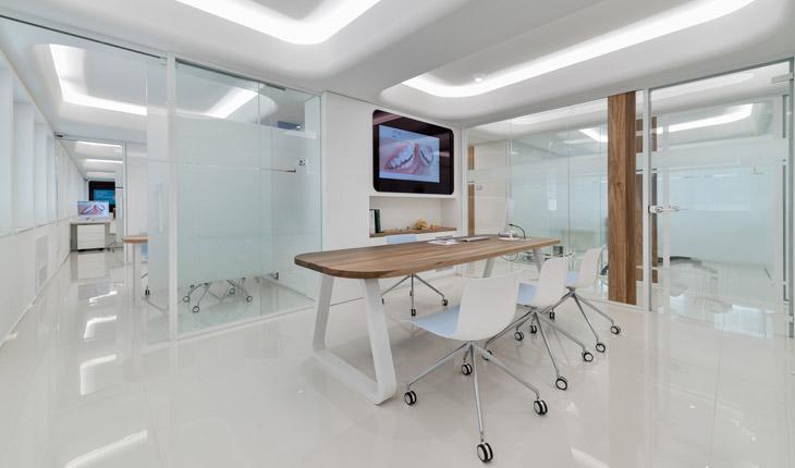 Cutrera dental clinic false ceilings