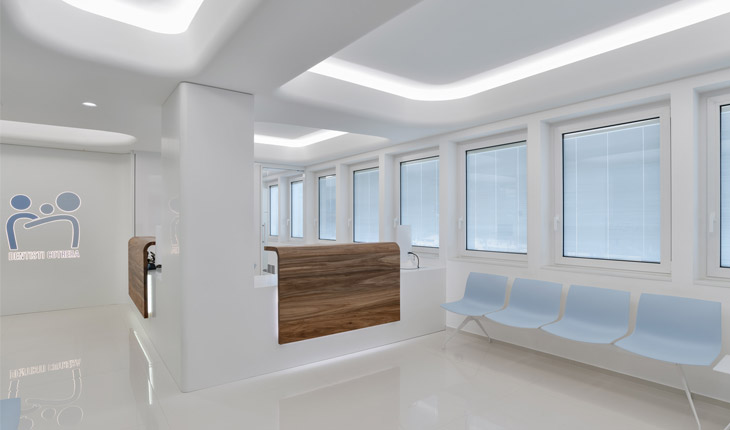 Cutrera dental clinic waiting room