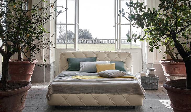 Flair bed Poltrona Frau Il Bel dormire