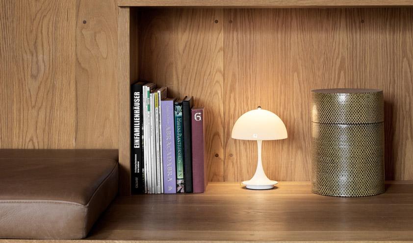 Panthella Table Lamp by Louis Poulsen