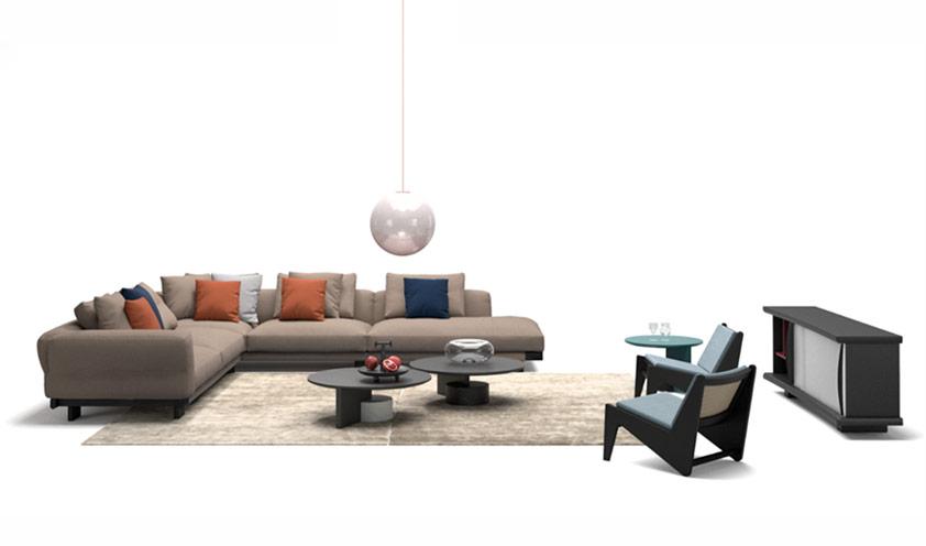 Sengu Sofa by Patricia Urquiola for Cassina