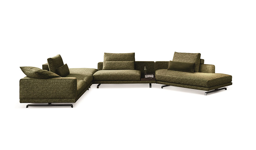 Octave sofa by Molteni & C.