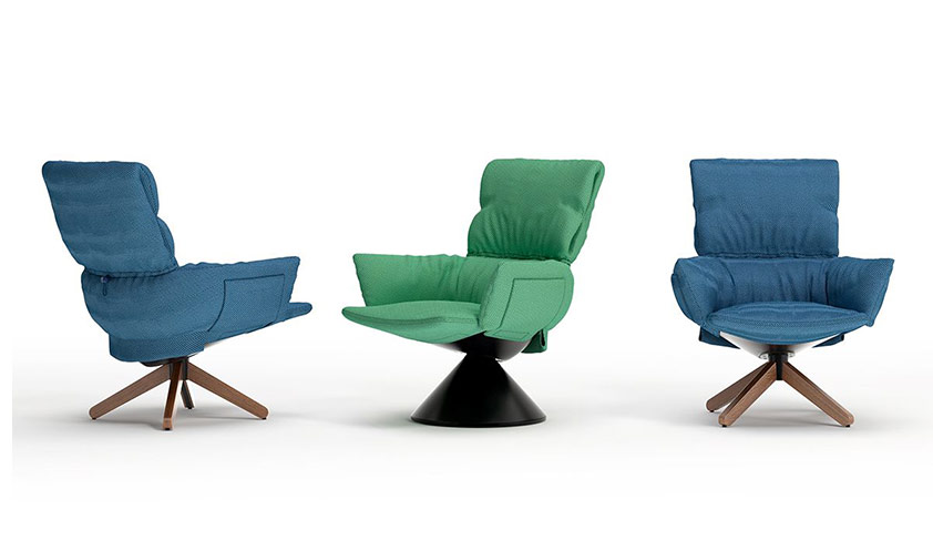 Lud´o Lounge chair by Cappellini