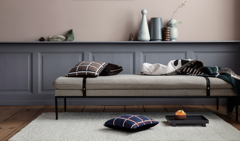 Checked Blue by Ferm Living