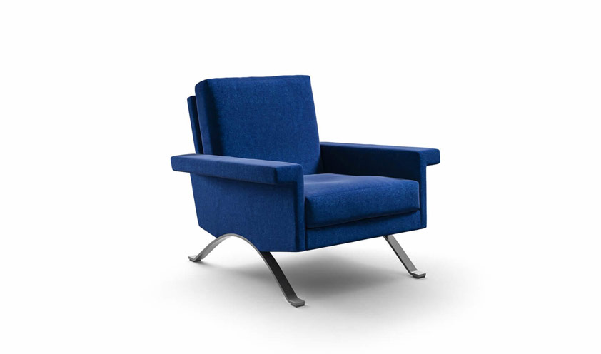 875 armchair by Ico Parisi by Cassina