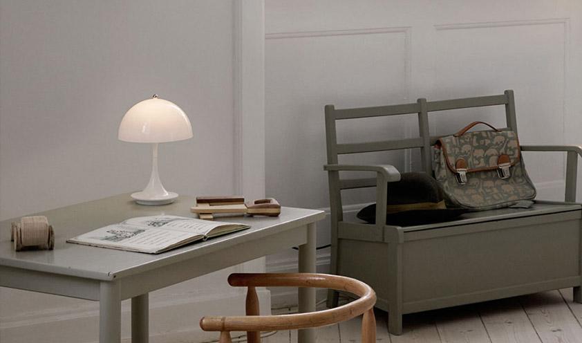 Panthella Table Lamp Portable by Louis Poulsen