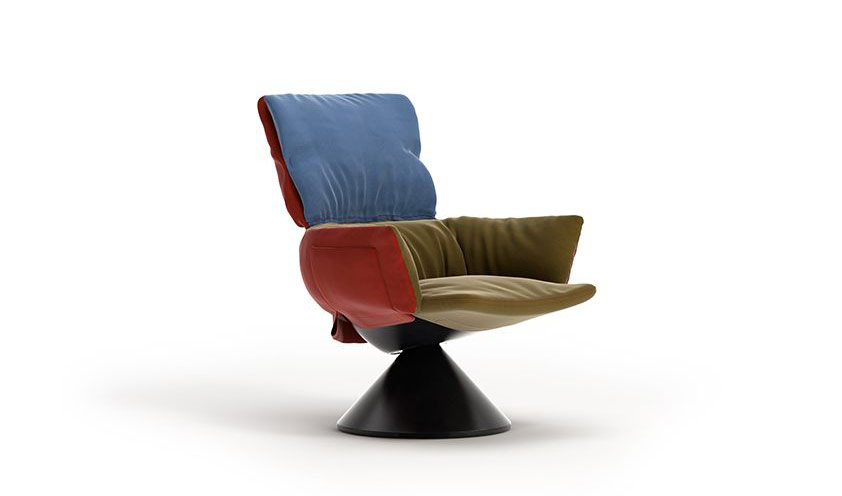 Lud´o Lounge by Patricia Urquiola for Cappellini