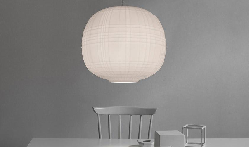 Tartan lamp by Foscarini