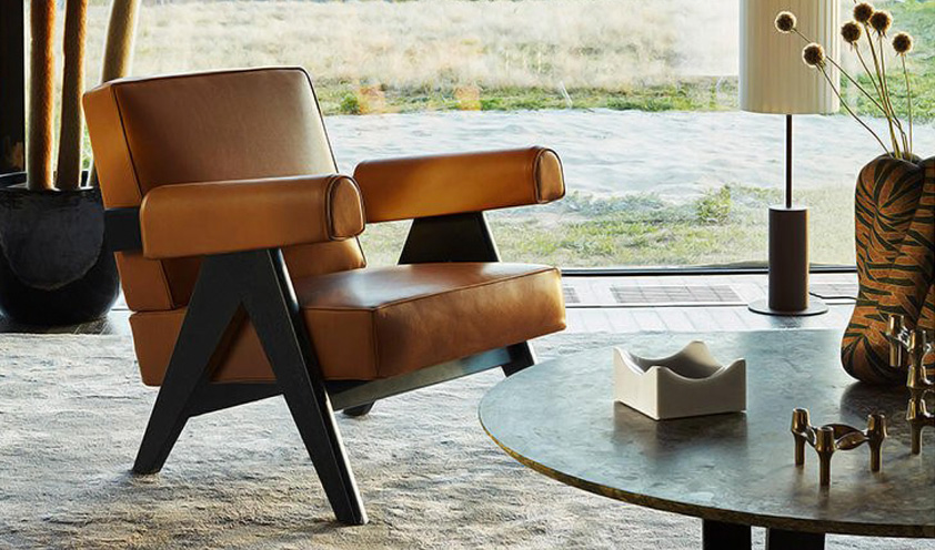 Capitol Complex armchair by Cassina