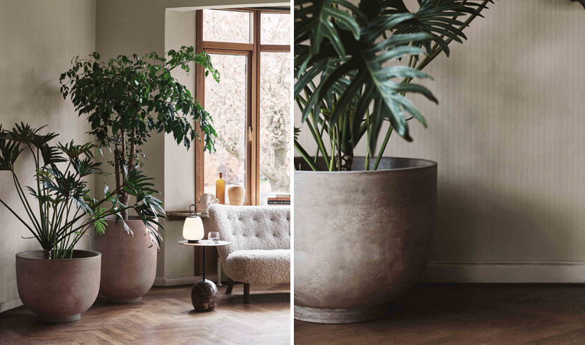 Collect planters by &Tradition