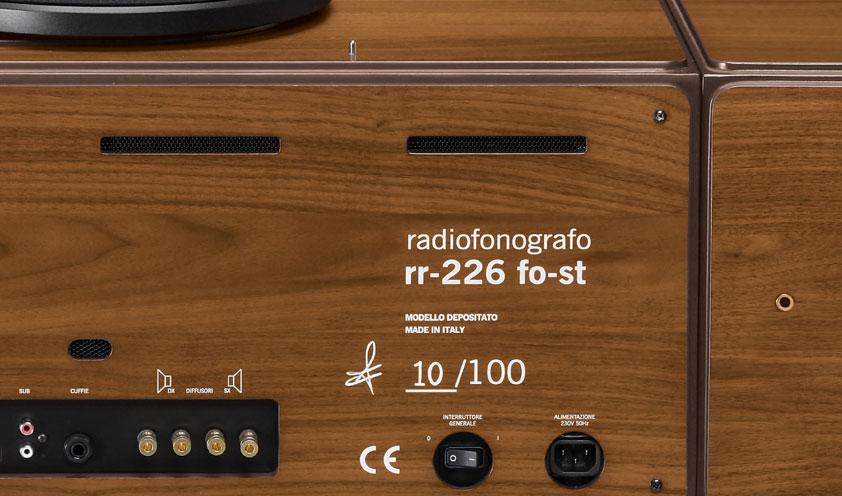Radiofonografo by Brionvega detail