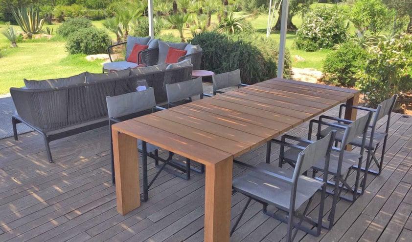 Mohd Portfolio outdoor dining table