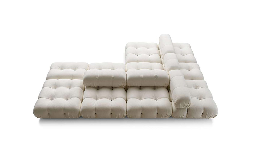 White Camaleonda sofa by B&B Italia