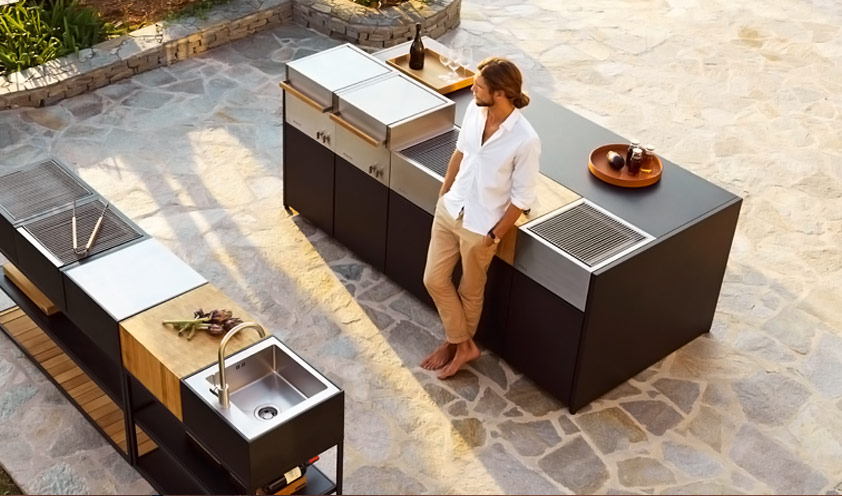 Roshults outdoor kitchen