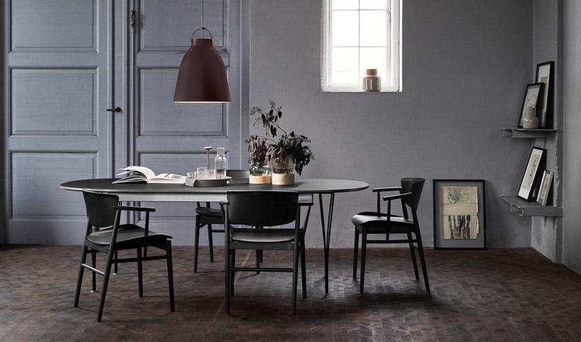N01 chair by Fritz Hansen