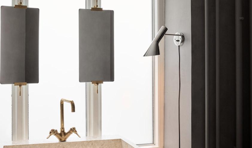 AJ wall lamp by Louis Poulsen