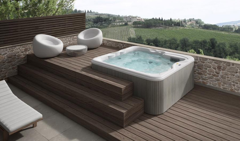 Lodge by Jacuzzi