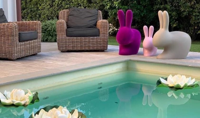 Rabbit Chair by Qeeboo