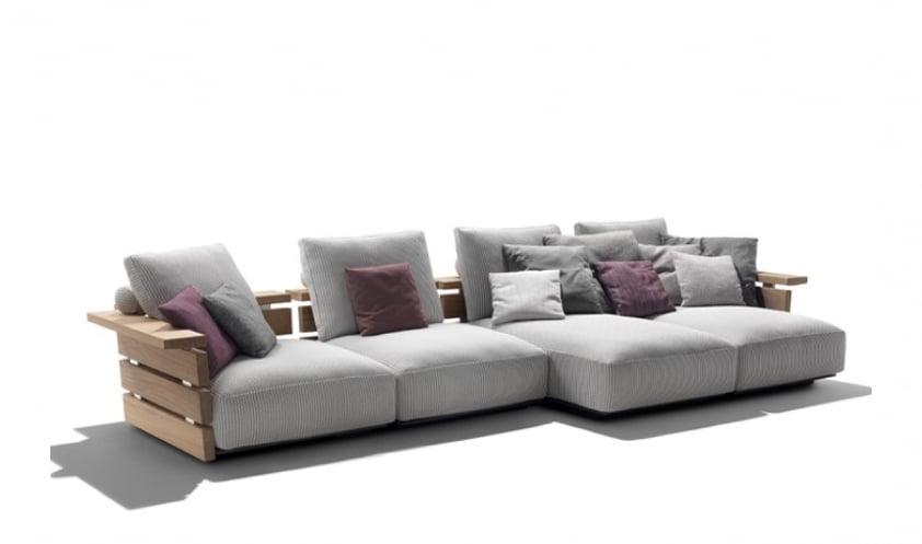 Ontario sofa by Flexform
