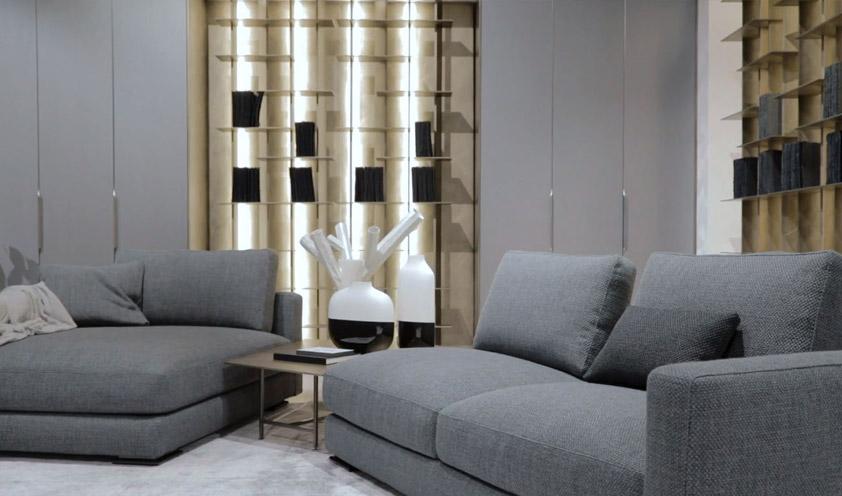 Flou 2020 collection sofa