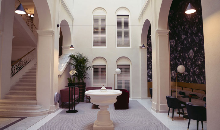 Rosselli fountain hotel boutique Rosselli AX Privilege Malta