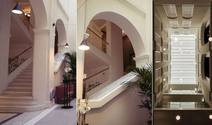 stairs hotel boutique Rosselli AX Privilege Malta